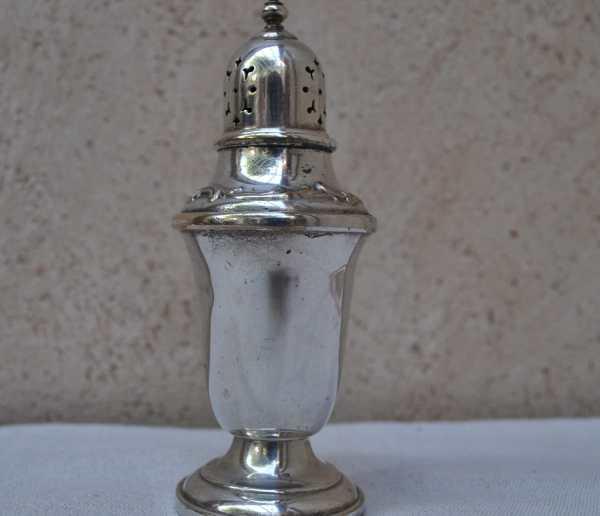 Vintage Gorham Silver Plated Salt Cellar