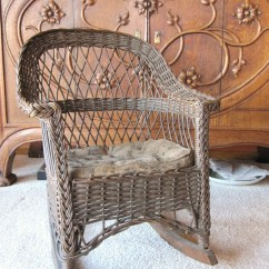 Antique Wicker Chairs Maestro Pedicure Spa Chair Rocking Child 39s New