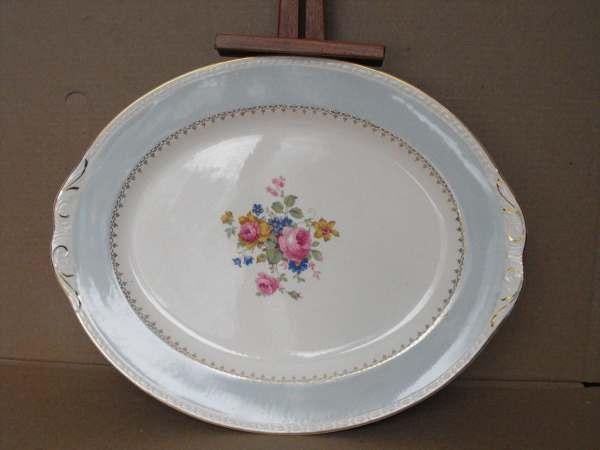 Homer Laughlin Eggshell Georgian Platter