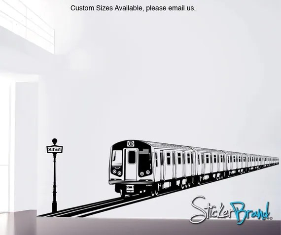 Made to Order Train Decal by Stickerbrand