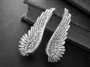 black angel wing steampunk sterling