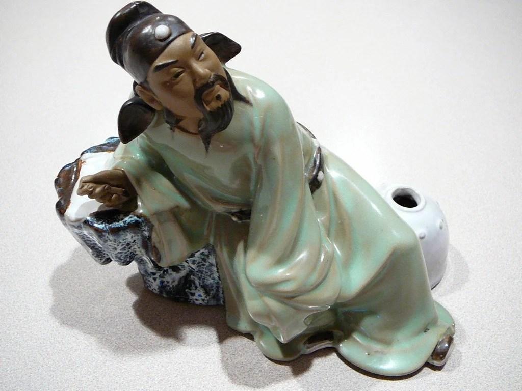 Reserved Edward Vintage Chinese Mudman Mudmen Figurine
