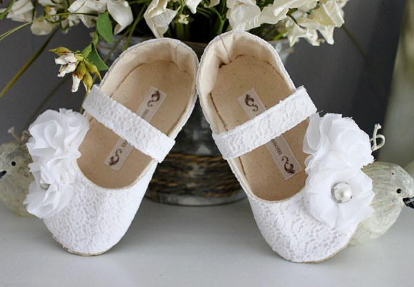 Baby Girl Shoes Toddler Soft Soled Wedding