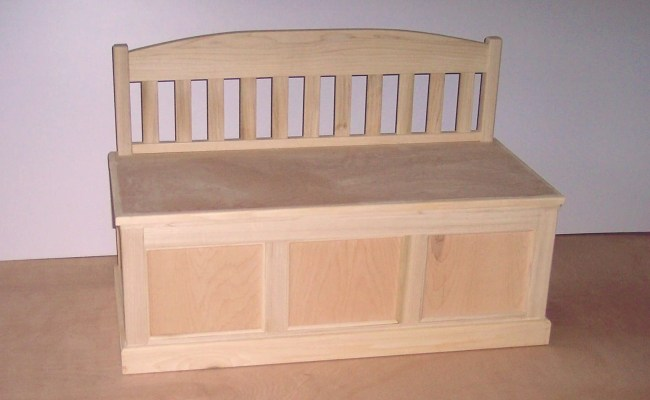 Items Similar To Wooden Toy Chest Unfinished On Etsy