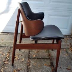 Clam Shell Chair Adec Performer Dental Manual Mid Century Modern Kodawood Eames Era