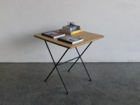 Vintage Mid Century Modern Wire Side Table