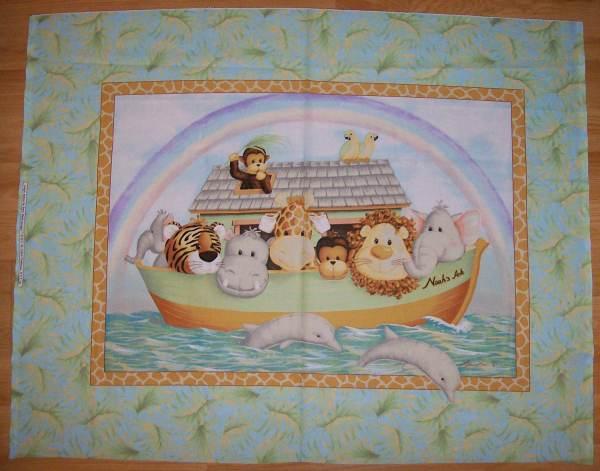Noah Ark Fabric Panel