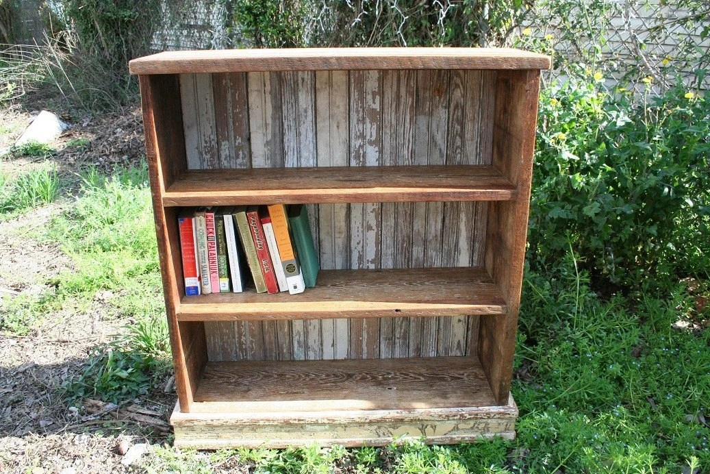 Short And Wide Bookcase