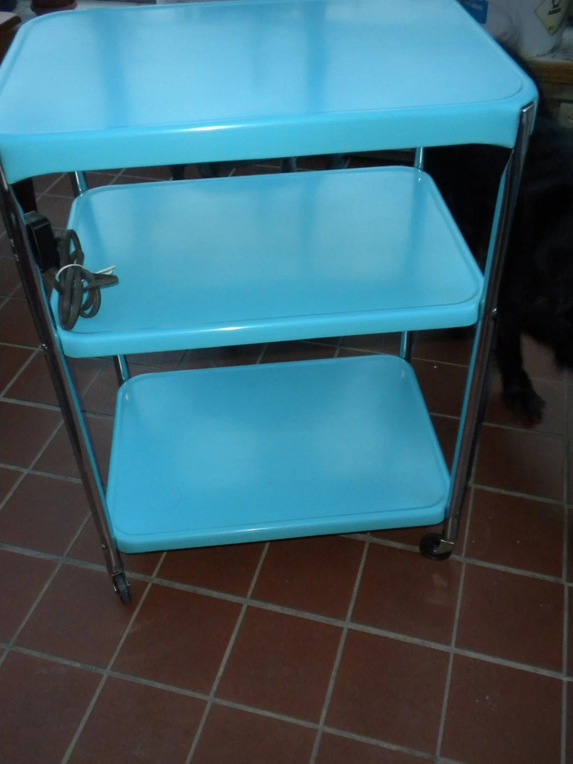 Vintage Cosco Rolling Kitchen Cart Reserved for Amelia