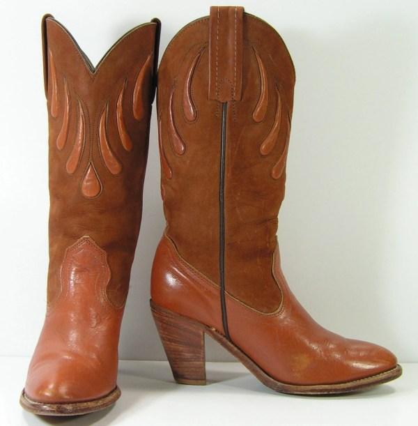 High Heel Cowboy Boots Women