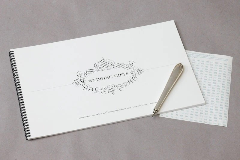 Wedding Etiquette Bundle Gift Tracking & Thank You By
