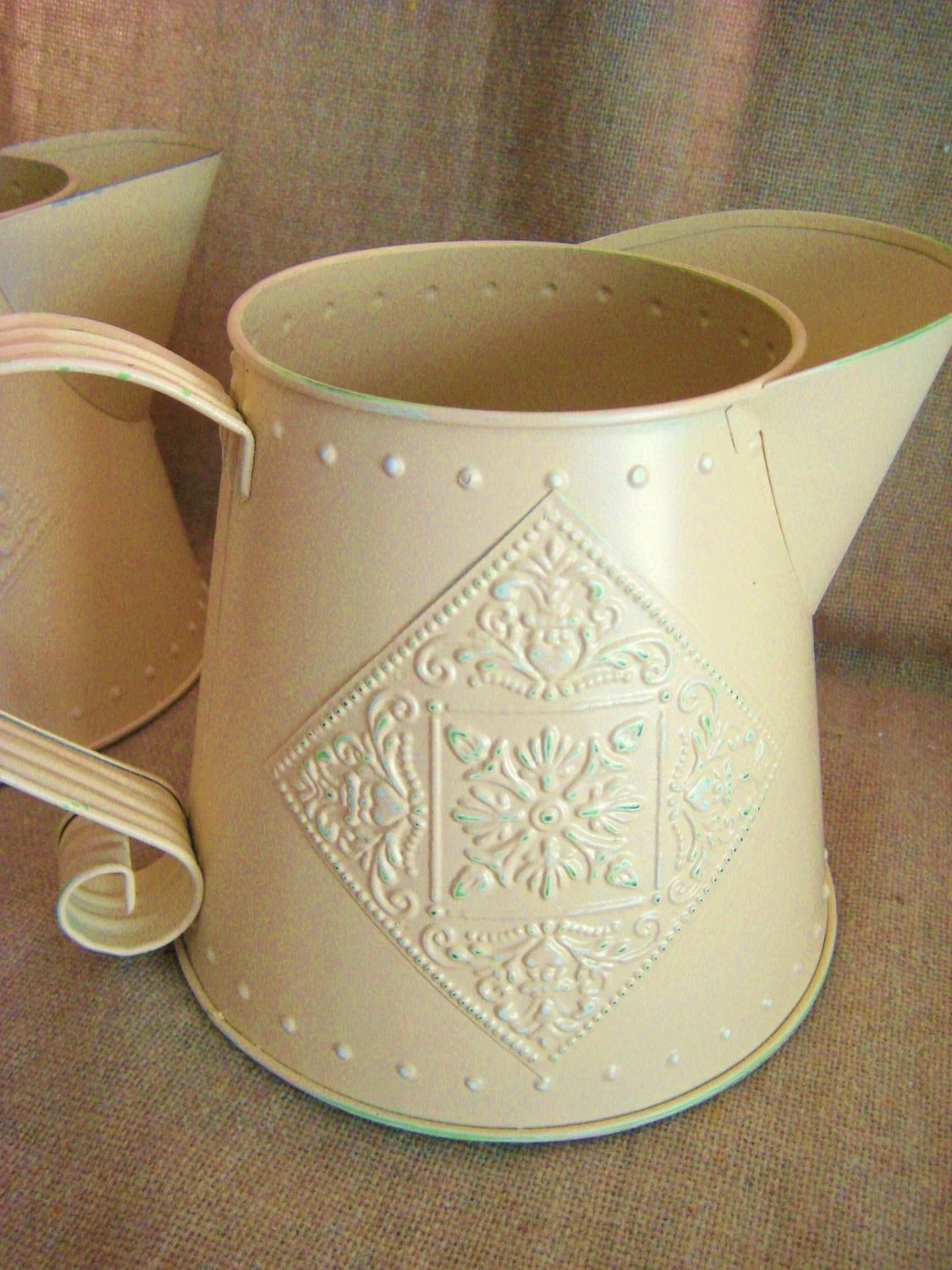 Pair Of Decorative Watering Cans