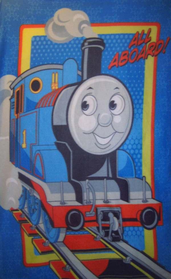 Thomas Tank Train Fleece Throw Blanket Soft Warm Wall