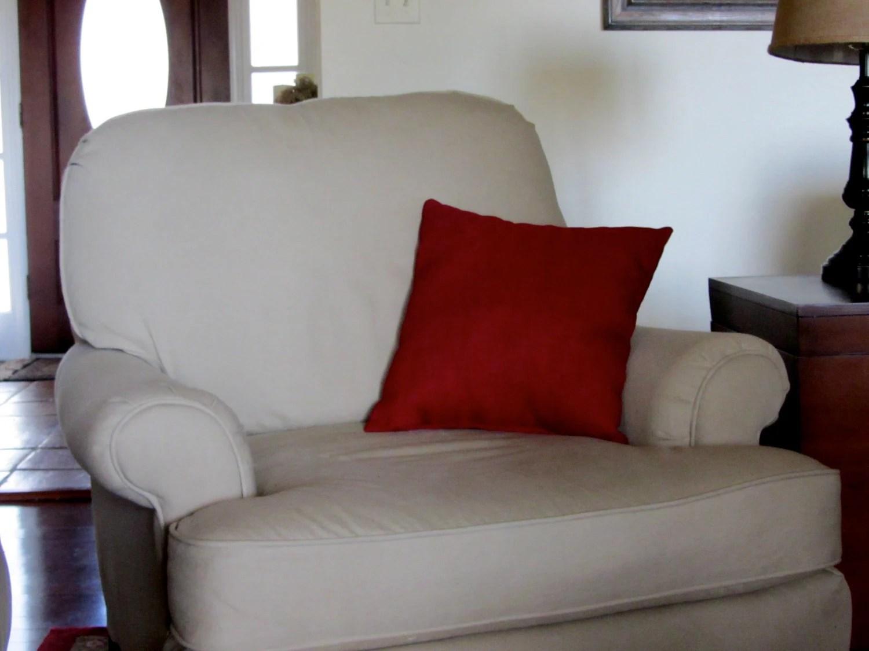 Custom chair cushion covers and pillows