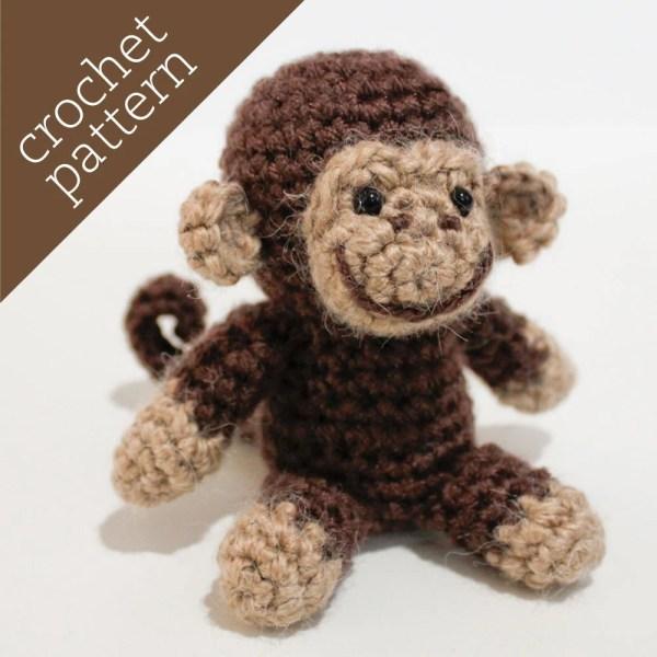Pattern Of Big Crochet Monkey Vtwctr