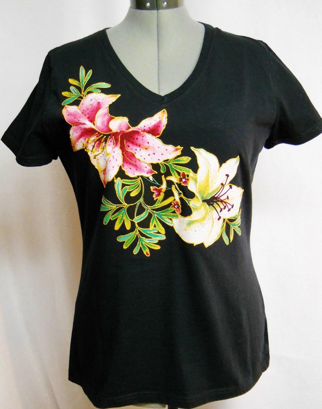 Custom Hand Painted T Shirts