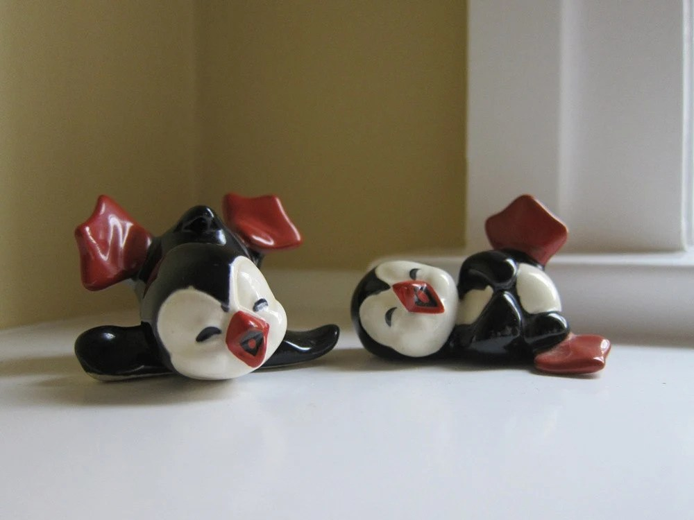 Set of Josef Originals Laughing Penguins