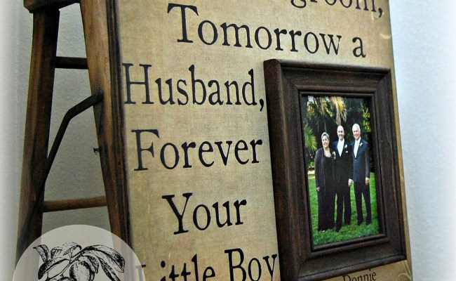 Parents Wedding Gift Personalized Picture Frame 16x16 Today A