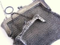 Broken Antique German Silver Purse Parts Repair by ...