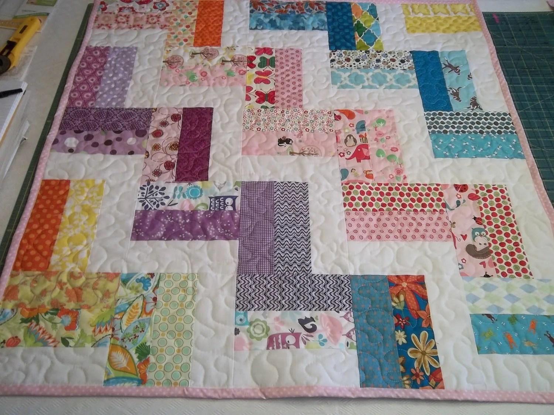 Zig Zag Quilt Pattern Tutorial Baby Quilt Pattern
