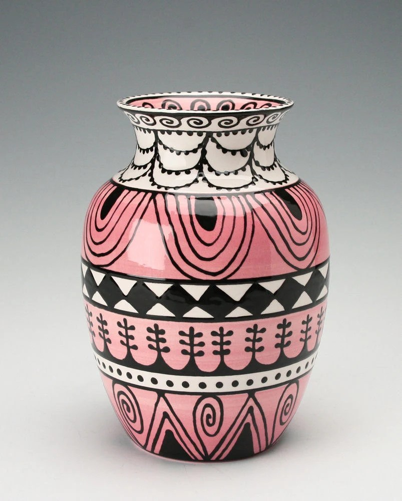 Pocket Vase Ceramic Wall White