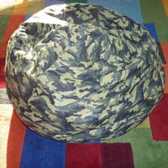 Green Chair Covers For Sale Cheap Table And Parties Camouflage Bean Bag Cover Army Military