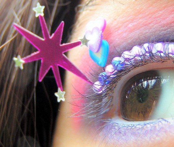 Twilight Sparkle Eyelash Jewelry - my little pony friendship is magic false lashes - EyelashJewelry