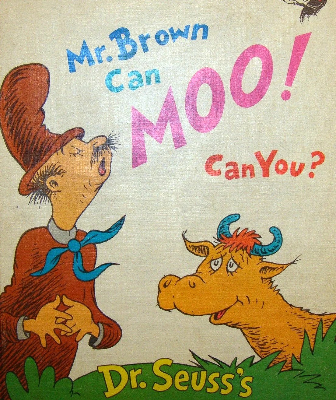 Dr Seuss S Mr Brown Can Moo Can You