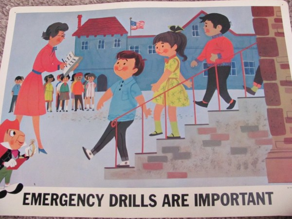 Emergency Drills Important Disney Study Poster Print