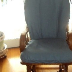How To Repair A Glider Rocking Chair Baseball Desk Replacement Covers For Rocker Cushions