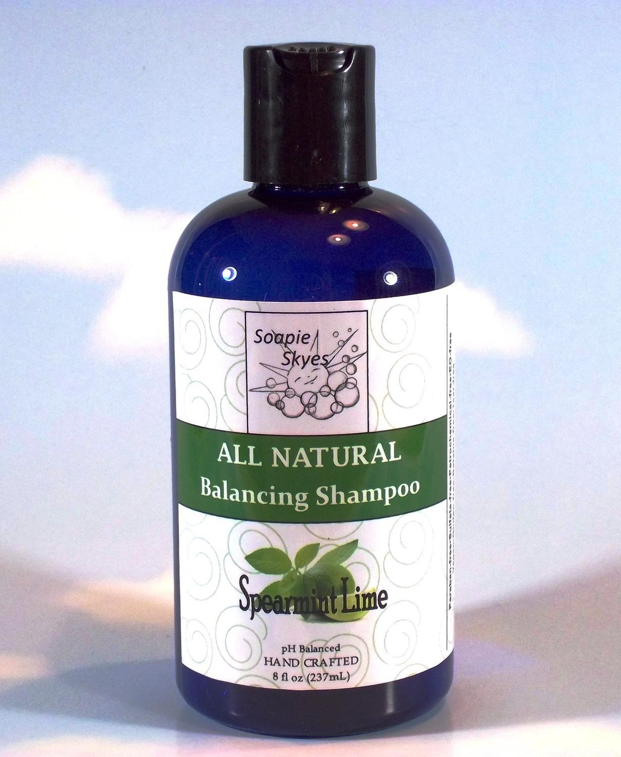 All Natural Balancing Shampoo - Spearmint Lime