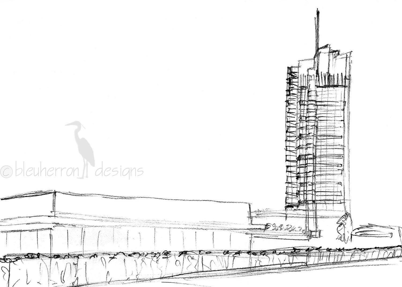 modern architecture Price Tower Frank Lloyd Wright art