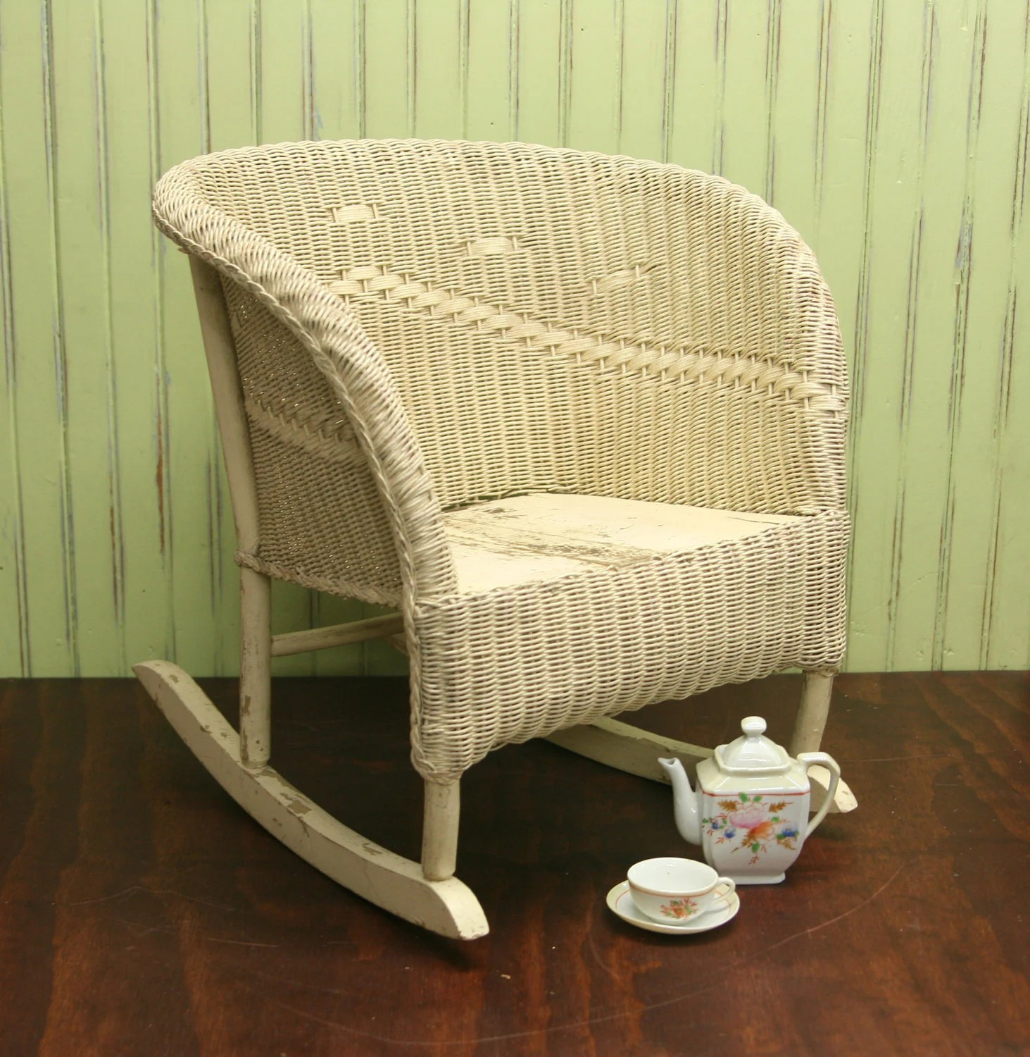 Black Wicker Rocking Chairs Child 39s Wicker Rocking Chair