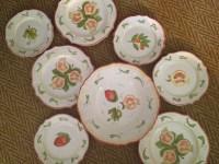 Majilly Hand Painted Italian Ceramic Dinnerware Set ON SALE