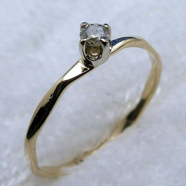 Keepsake 14K Diamond Ring