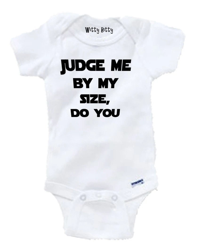 STAR WARS Judge Me By My Size Do You YODA Funny Any