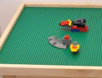 Extra Large lego activity table with 8 by Midwestclassiccrafts