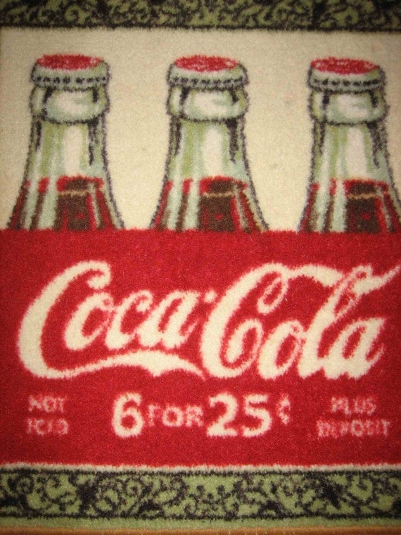 rubber kitchen mat vintage faucets coca cola small rug