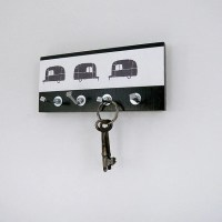 Items similar to trailer- camper-Mini-key holder with ...