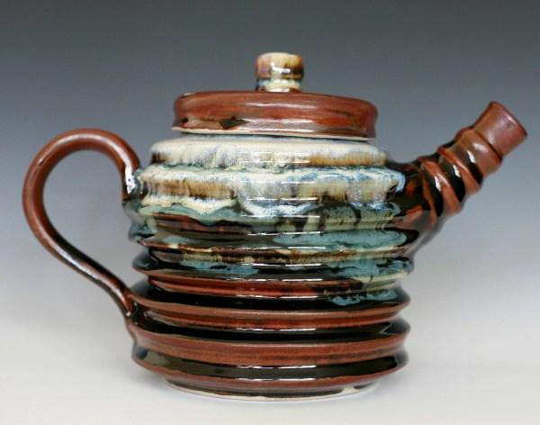 World Ugliest Teapot Large Handmade Ceramic