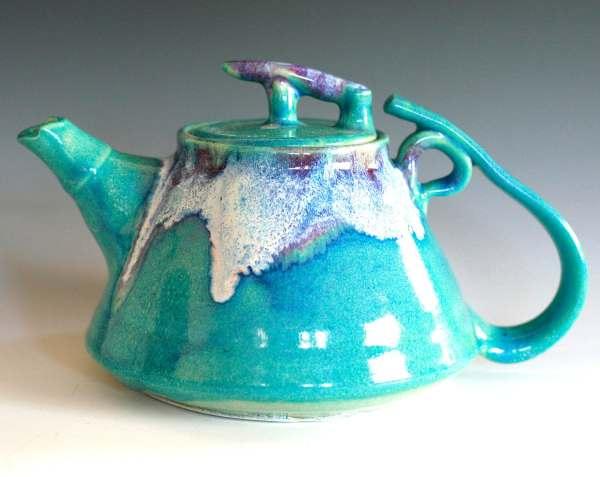 Reserved Gerddi Mika Moon Teapot Ceramic