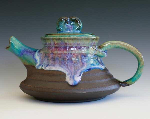 Hamasaki Seashore Teapot Handmade Ceramic Ceramics
