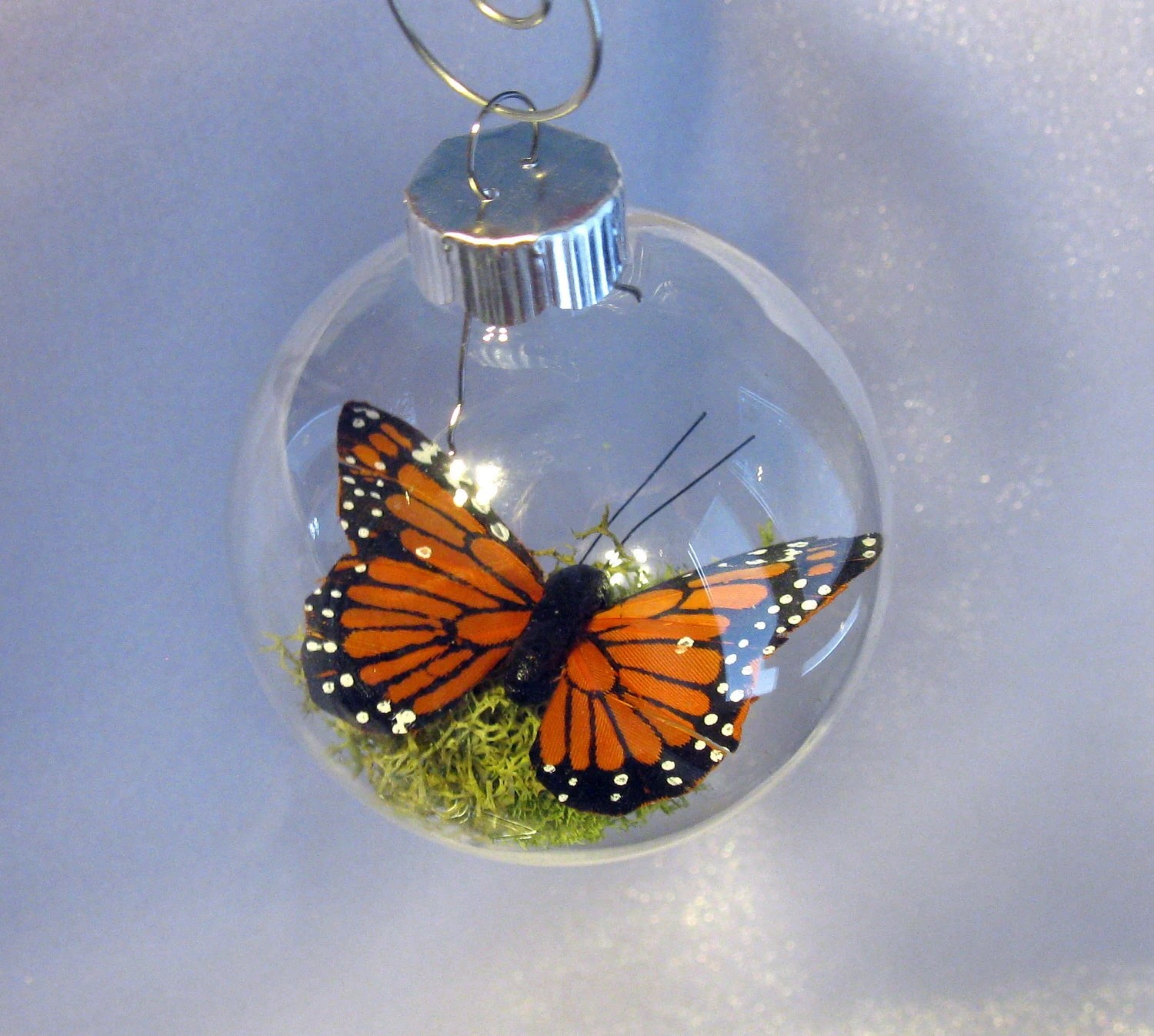 Butterfly Memorial Christmas Ornament By MySuspendedMoments