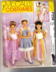 Princess And Dance Costume Pattern Girls 4 6 Uncut