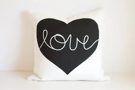 Heart Cushion - love