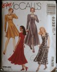 Mccalls 6232 Misses Princess Seamed Dress Pattern