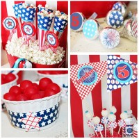 July 4th Birthday Party Decorations July 4th Party