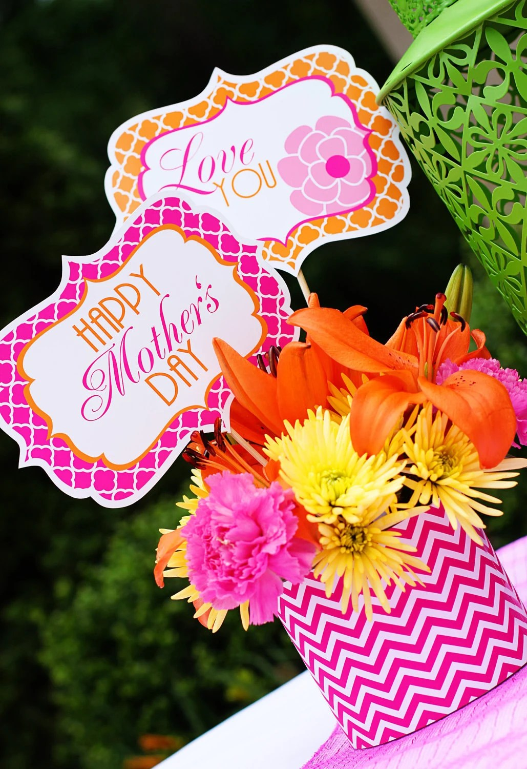 Mother S Day Decorations Mother S Day Printables