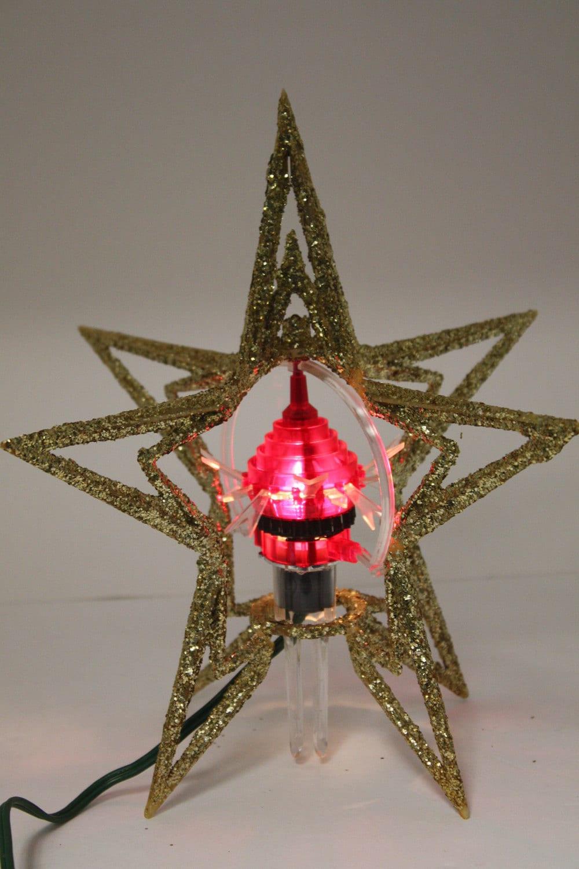 Best 28 Revolving Christmas Tree Topper Vintage Merry