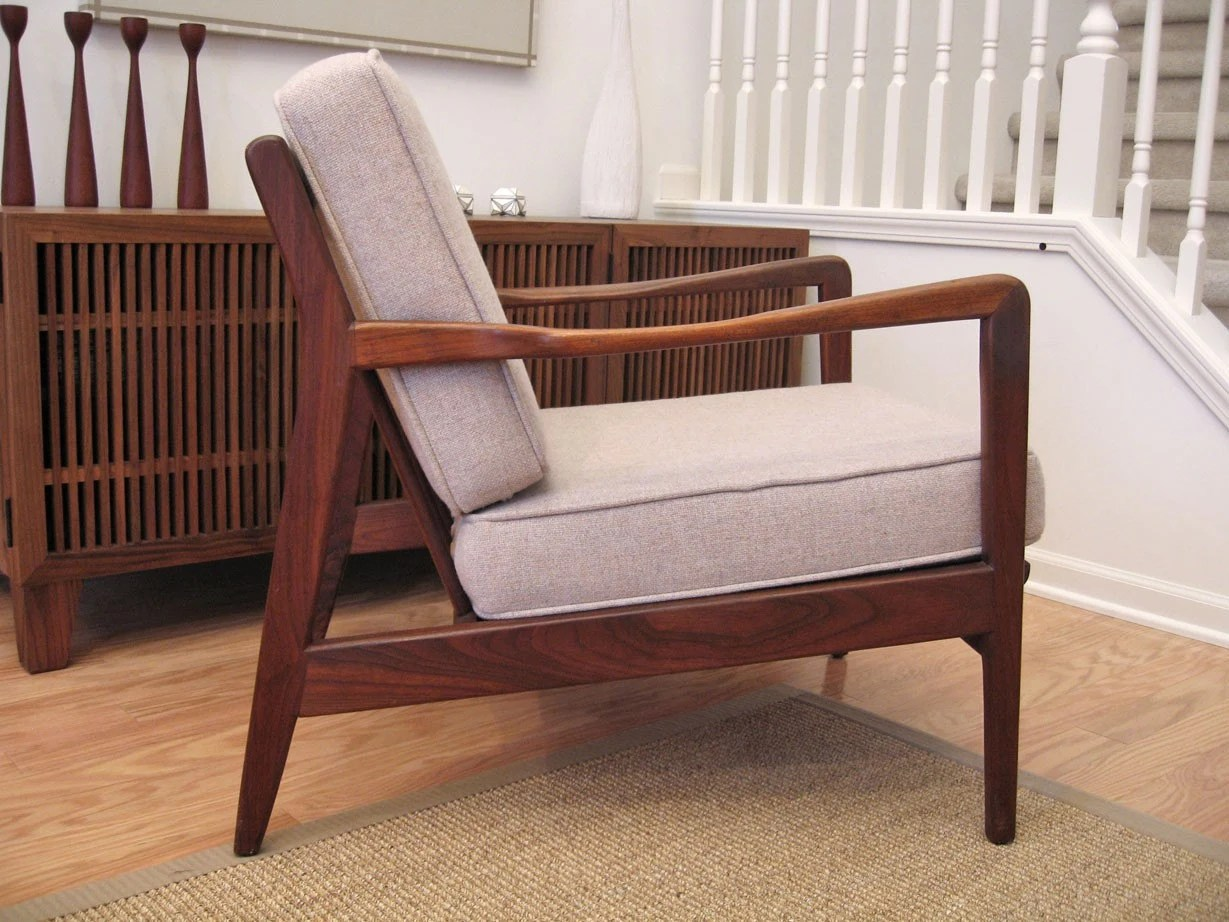 Danish Lounge Chair Danish Modern Teak Lounge Chair Excellent Condition